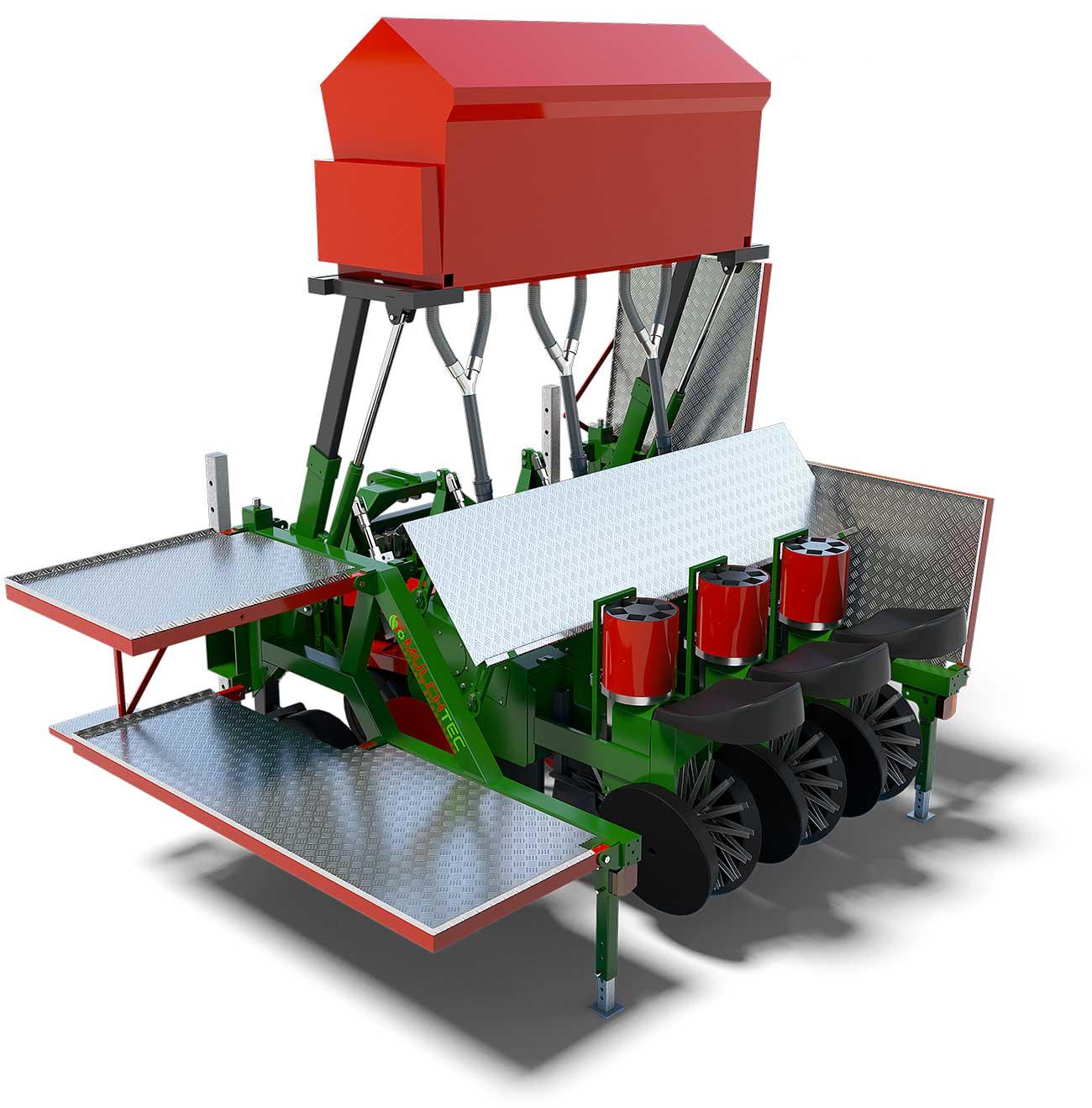 MulchTec Planter Aufsicht